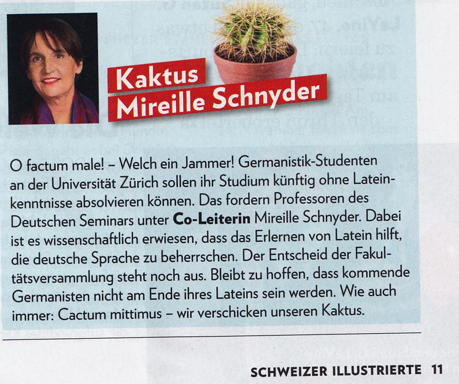 SwissEduc - Alte Sprachen - News