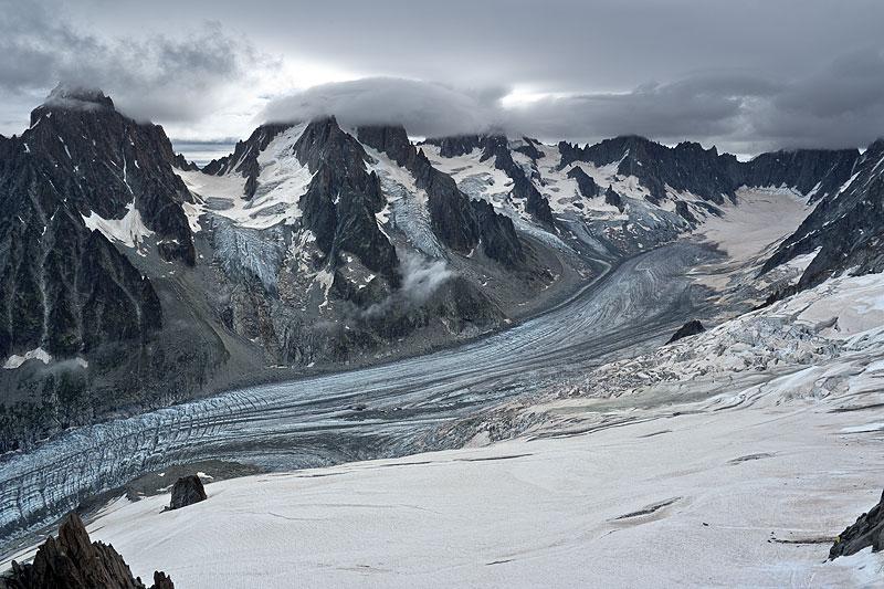 Glacier des grands montets webcam