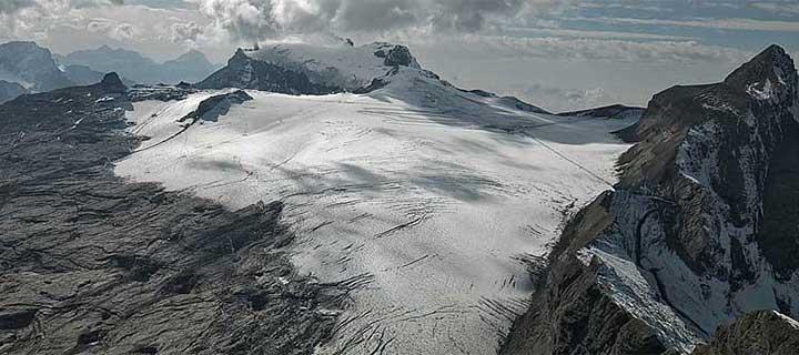 Swisseduc Glaciers Online Glacier De Tsanfleuron