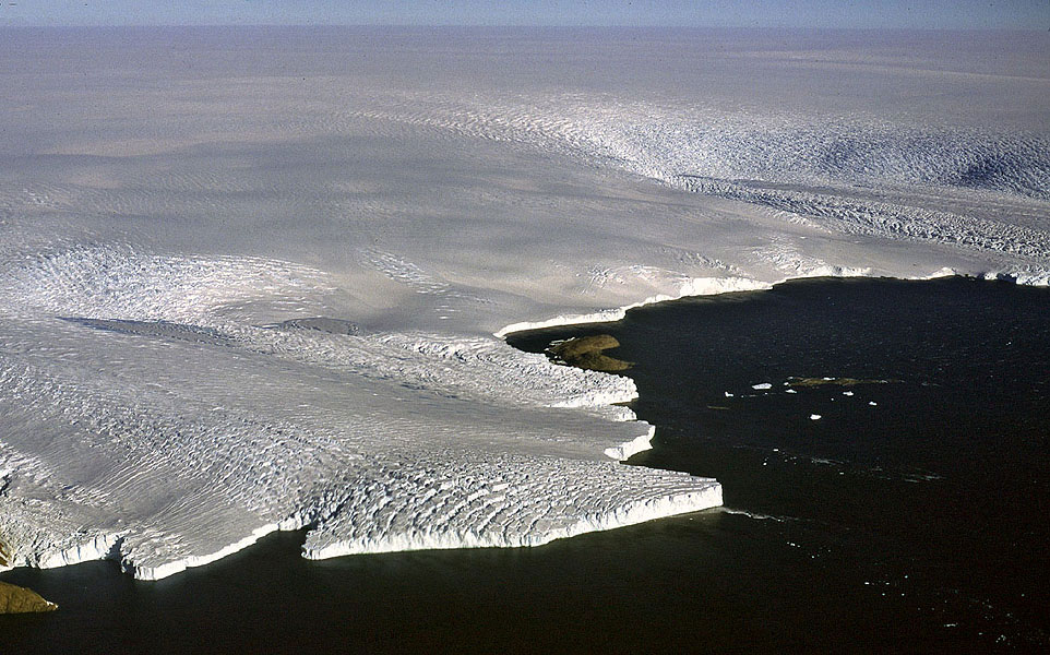 06 antarctic ice sheet 5 million years ago, the sea level rose 20 meters