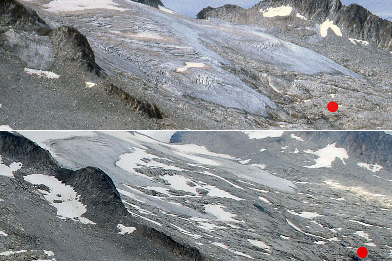 Glaciar de Aneto, Maladeta Massif