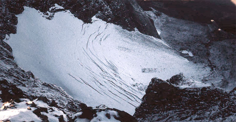 Glaciar de Lardana, Posets Massif
