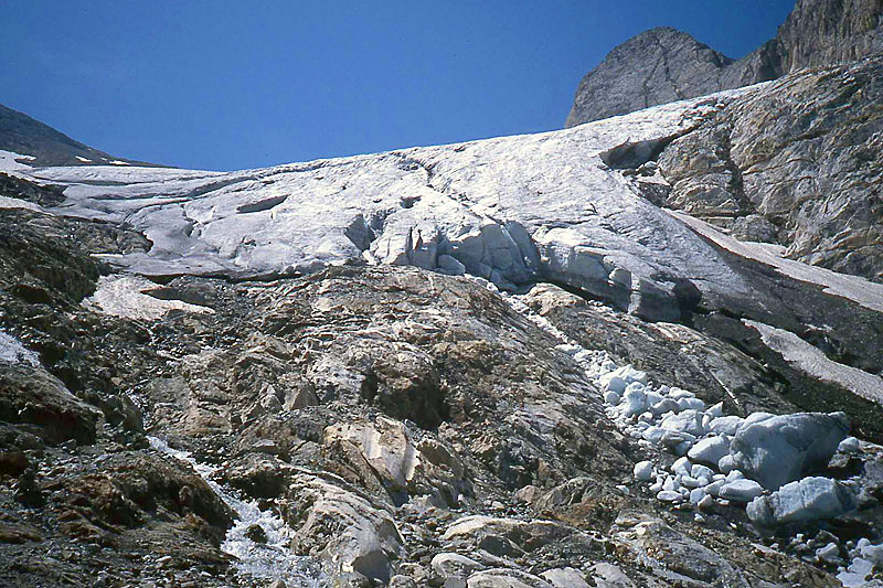 Glaciar de Ossue, Vignemale Massif