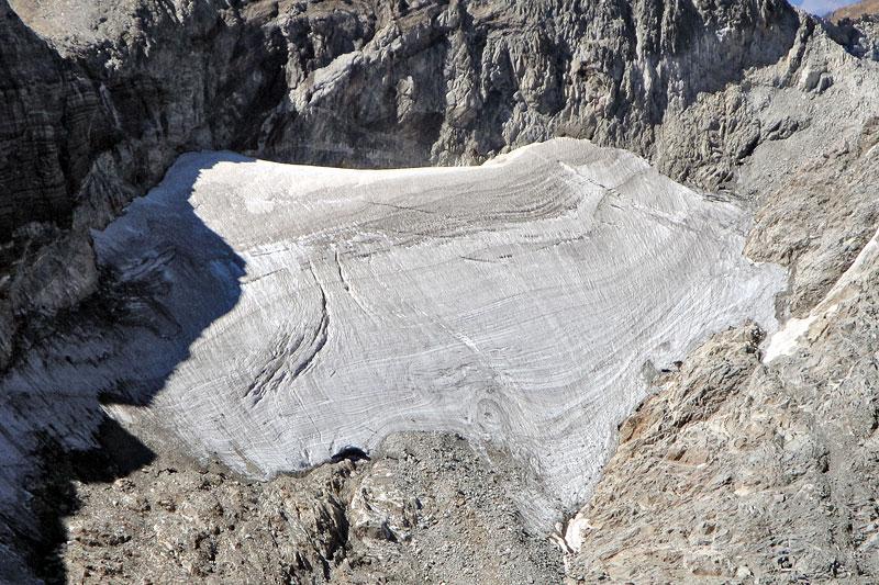 Glaciar de Seil de la Baquo Est, Perdiguero Massif