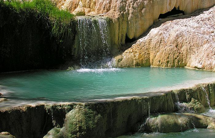 Bagni di san filippo terme foto mappa idee di viaggio