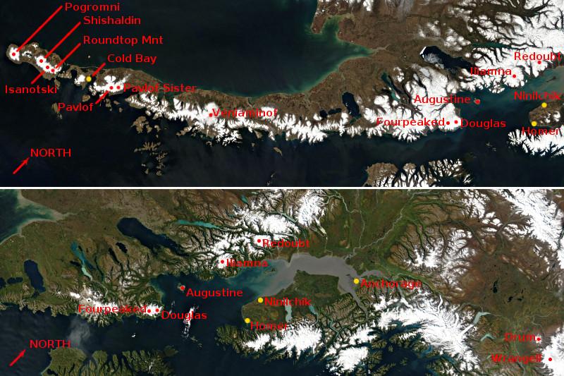 SwissEduc - Stromboli online - Vulkane in Alaska