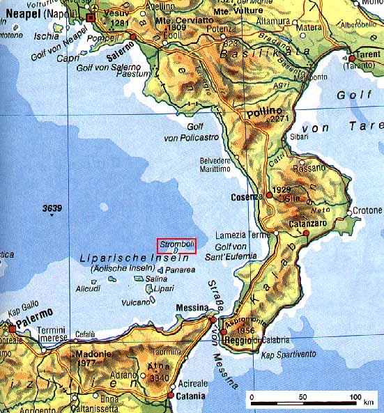 SwissEduc Stromboli online The Island